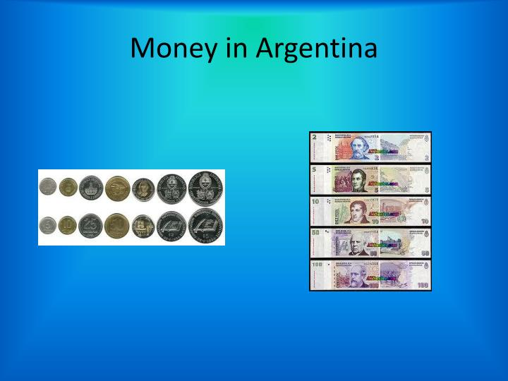 Money in Argentina