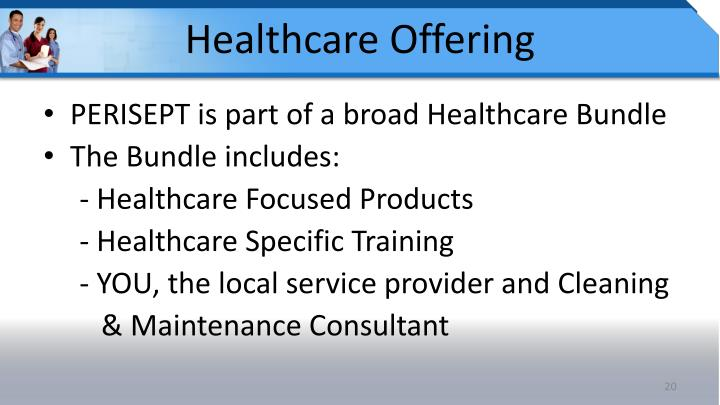 Healthcare Offering