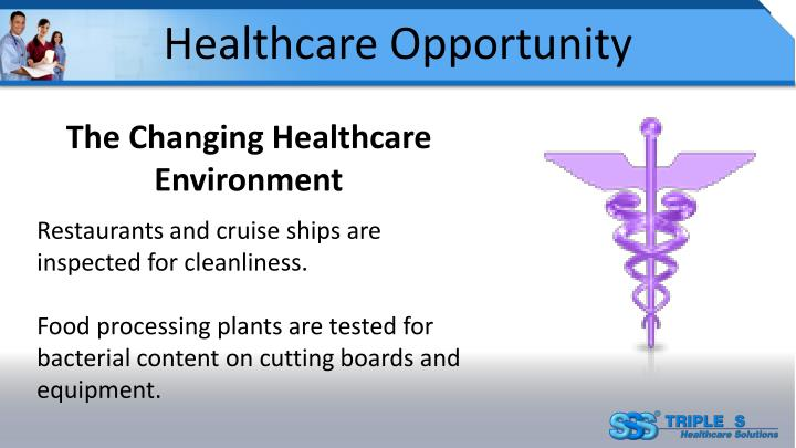 Healthcare Opportunity