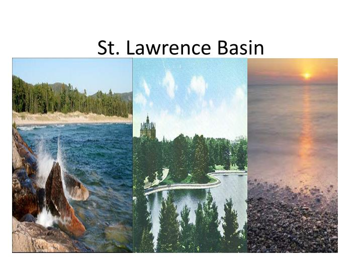 St. Lawrence Basin