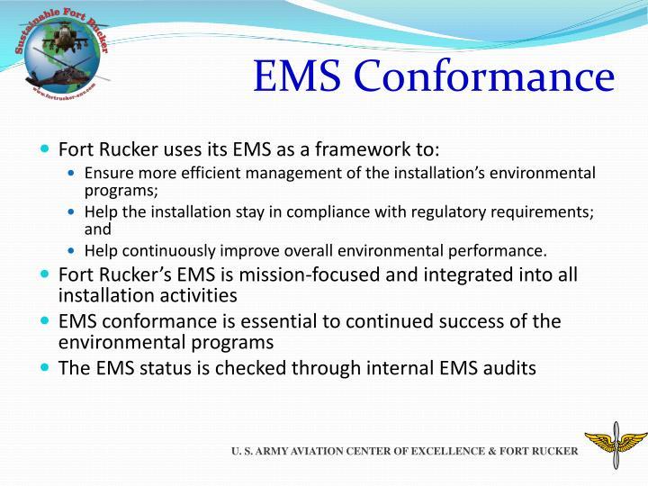 EMS Conformance