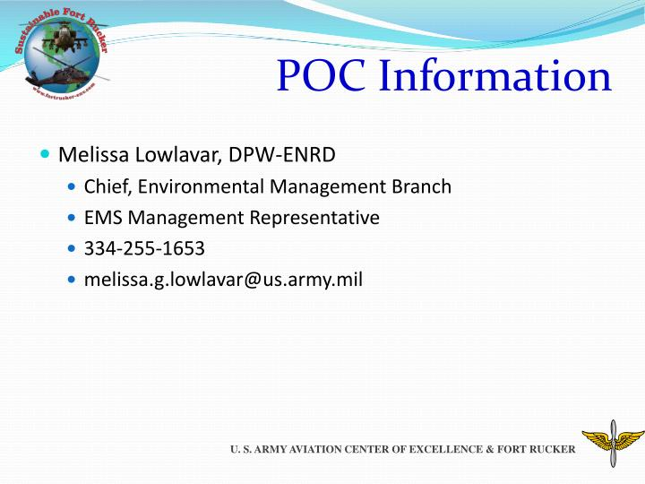 POC Information