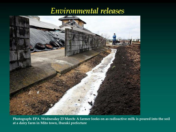 Environmental releases