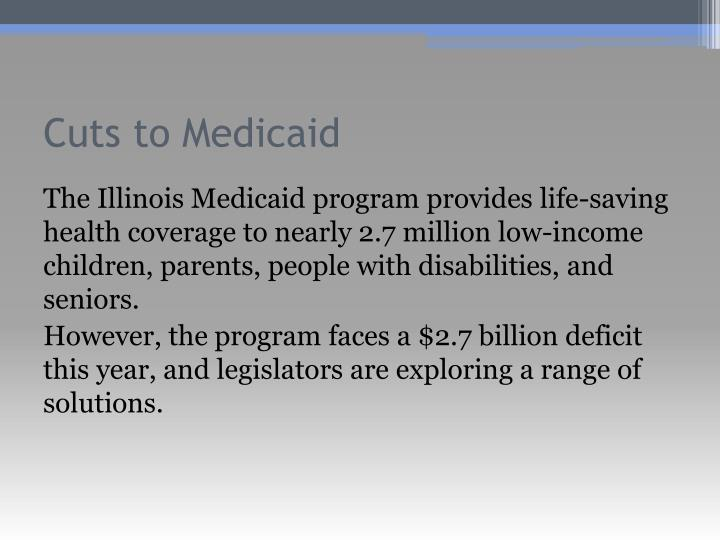 Cuts to Medicaid