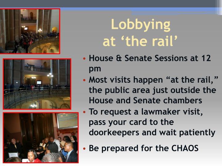 House & Senate Sessions at 12 pm