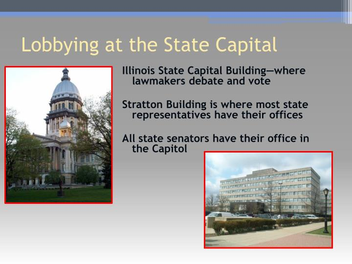Illinois State Capital Building—where lawmakers debate and vote