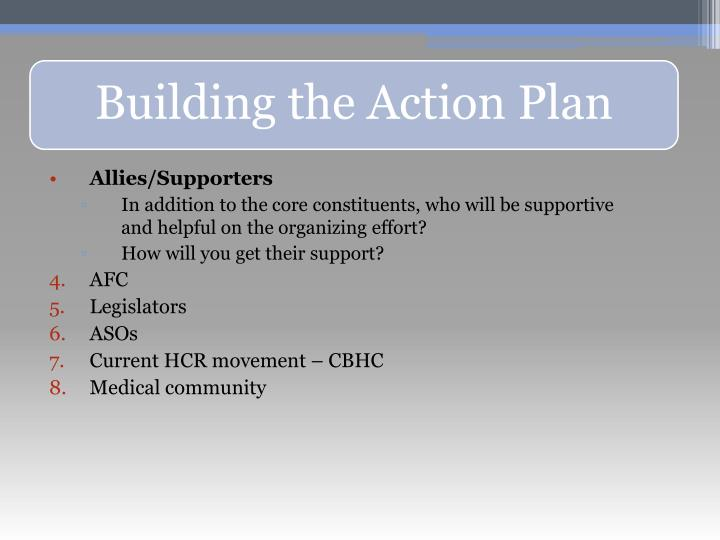Allies/Supporters