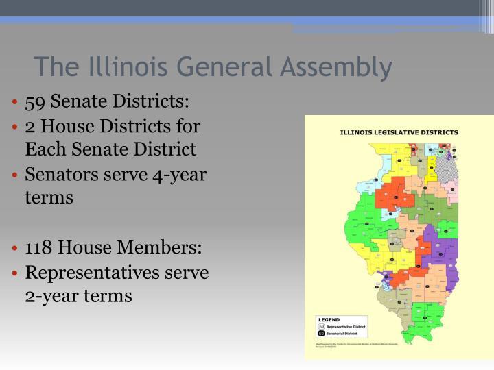 59 Senate Districts: