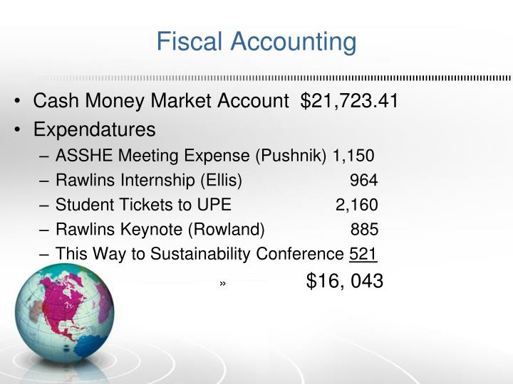 Fiscal Accounting