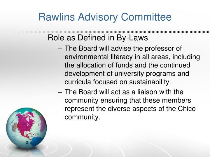 Rawlins Advisory Committee