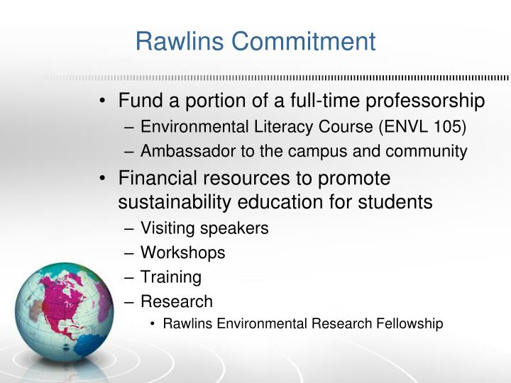 Rawlins Commitment