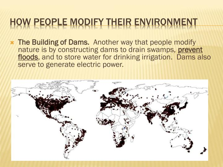The Building of Dams.
