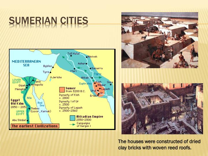 Sumerian cities
