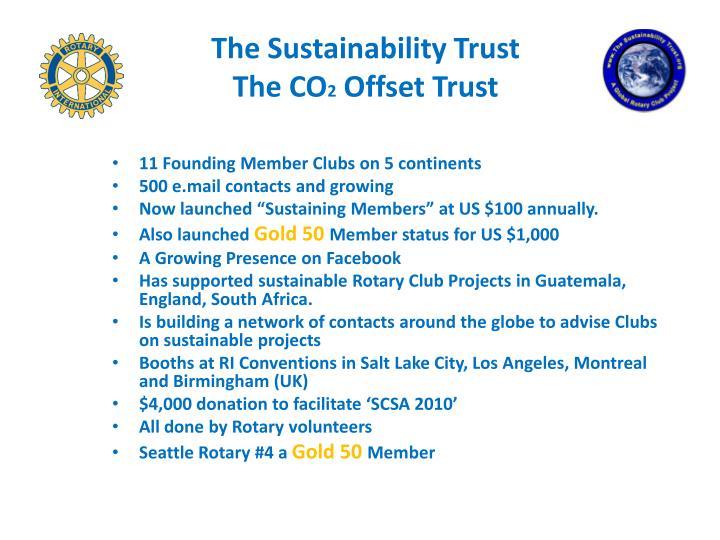 The Sustainability Trust