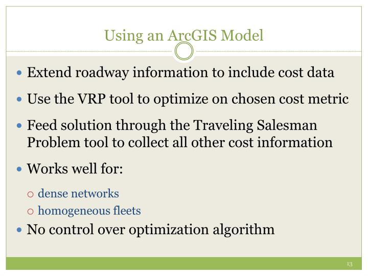 Using an ArcGIS Model