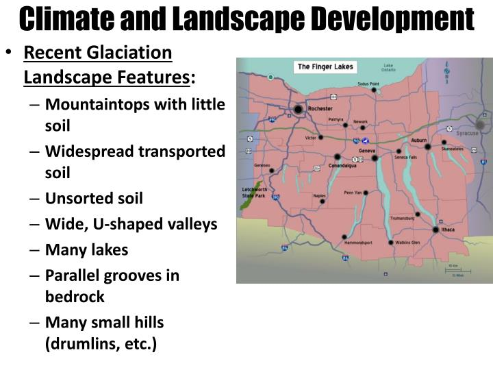 Climate and Landscape Development