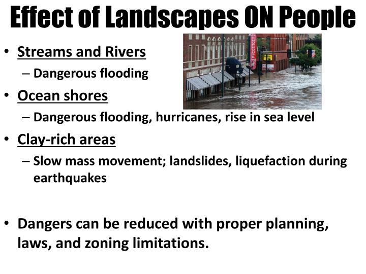 Effect of Landscapes ON People