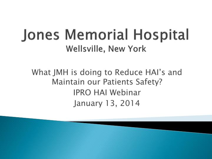 Jones memorial hospital wellsville new york