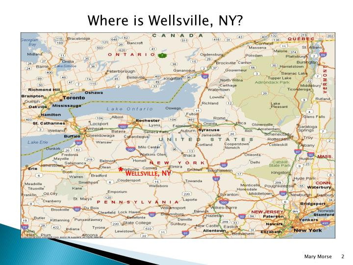 Where is Wellsville, NY?