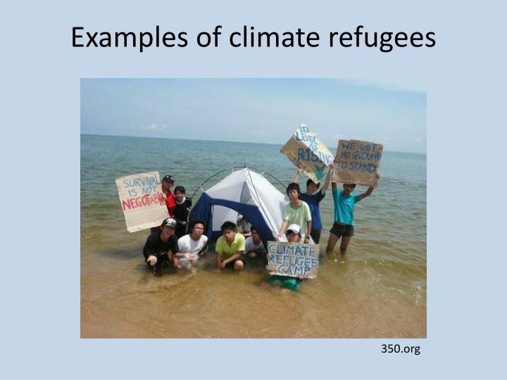 Ppt Climate Refugees Powerpoint Presentation Id 1622891