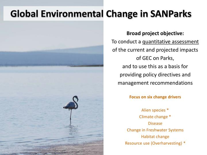 Global Environmental Change in