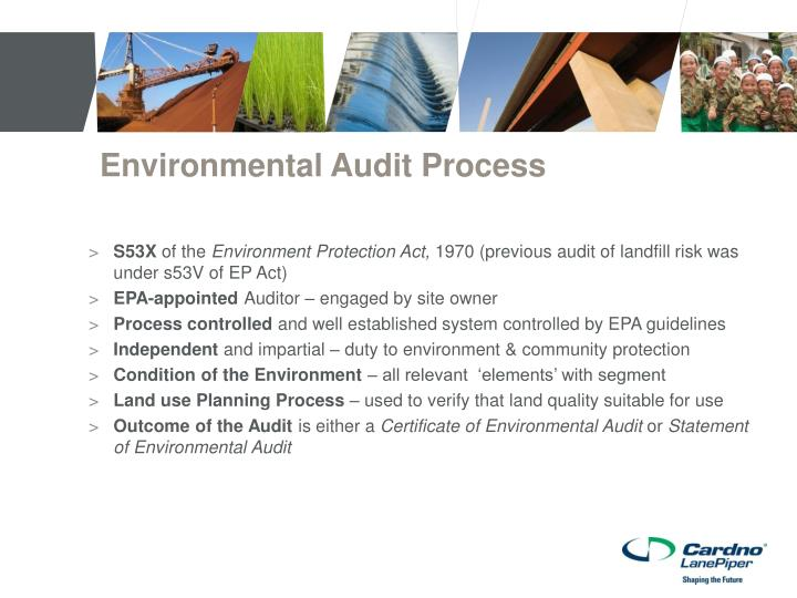 Environmental Audit Process