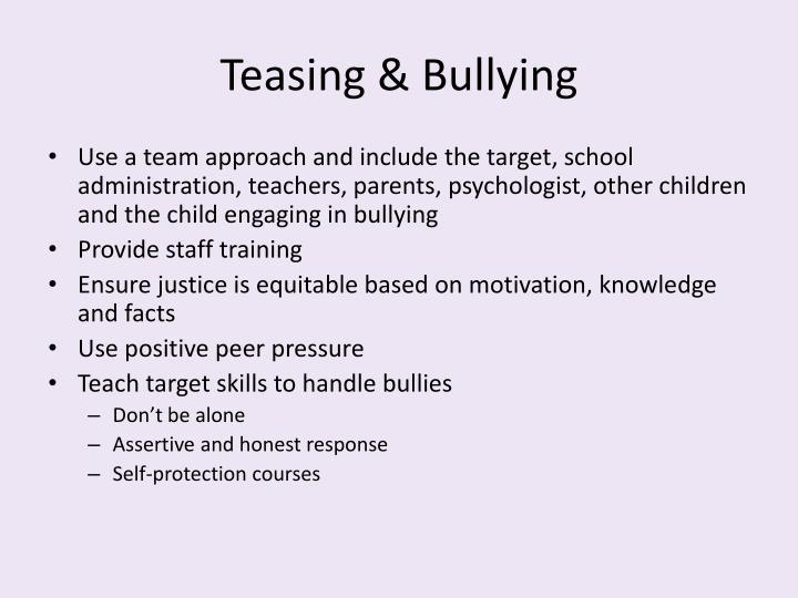 Teasing & Bullying