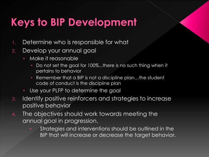 Keys to BIP Development