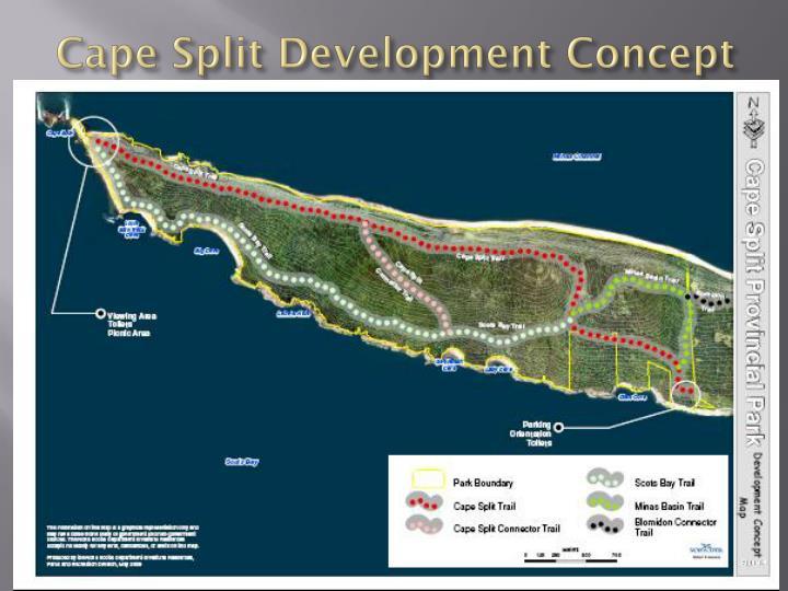 Cape Split Development Concept