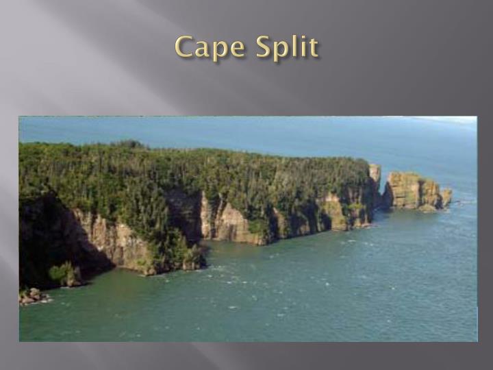 Cape Split