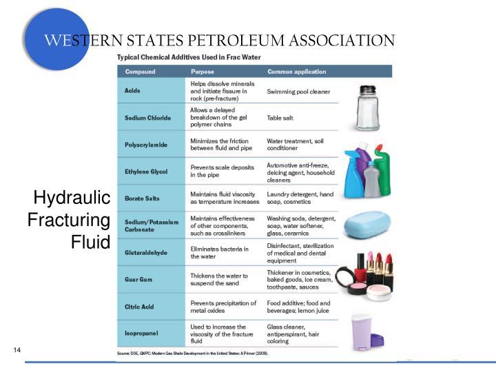 Hydraulic Fracturing Fluid