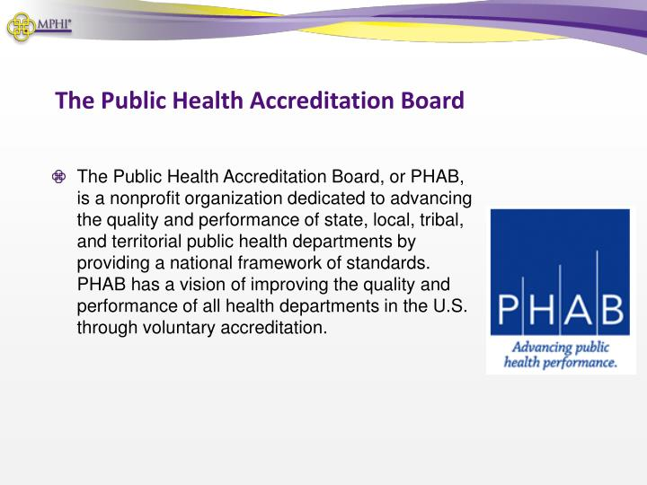 The Public Health Accreditation Board