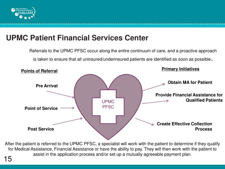 UPMC Patient Financial Services Center