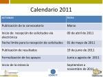 calendario 20114