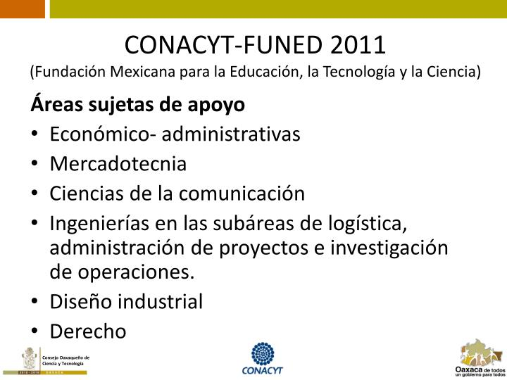 CONACYT-FUNED