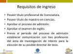 requisitos de ingreso10