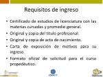 requisitos de ingreso7