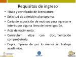 requisitos de ingreso9
