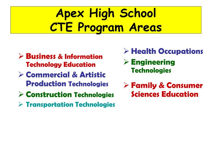 Apex High School