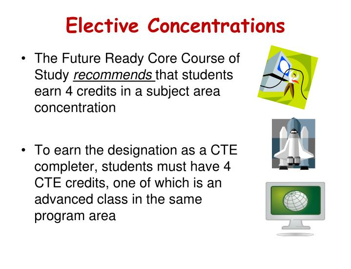 Elective Concentrations