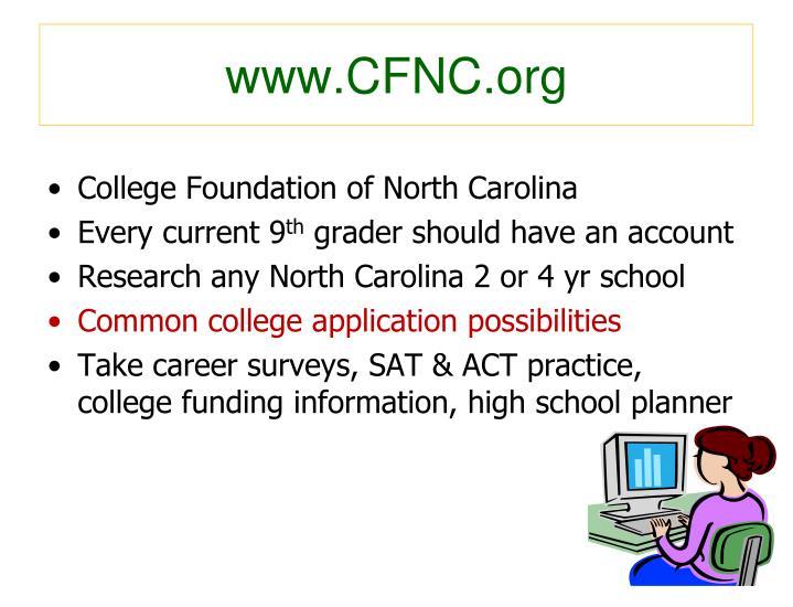 www.CFNC.org