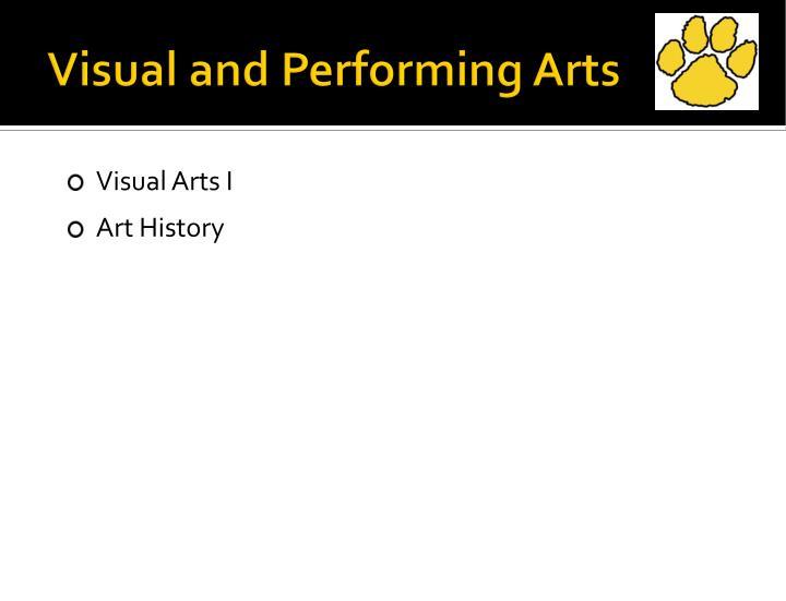 Visual and Performing Arts