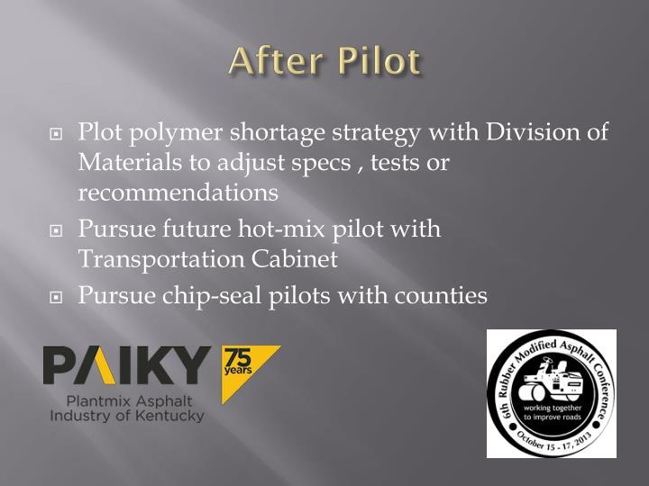 After Pilot