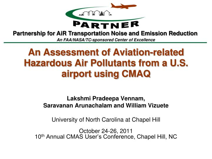 An assessment of aviation related hazardous air pollutants from a u s airport using cmaq