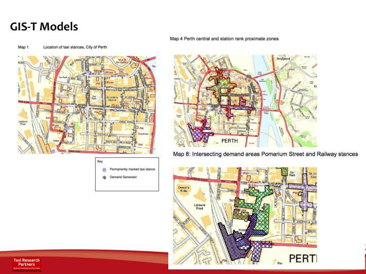 GIS-T Models