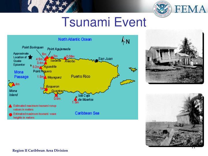 Tsunami Event