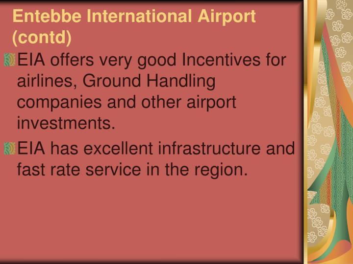 Entebbe International Airport (contd)