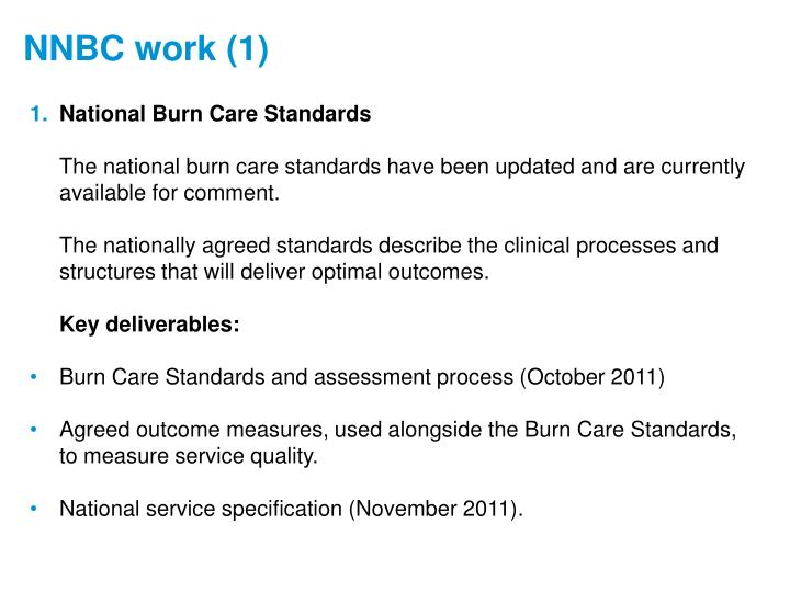 National Burn Care Standards