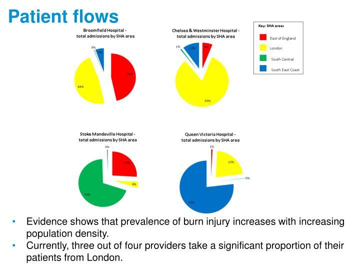 Patient flows