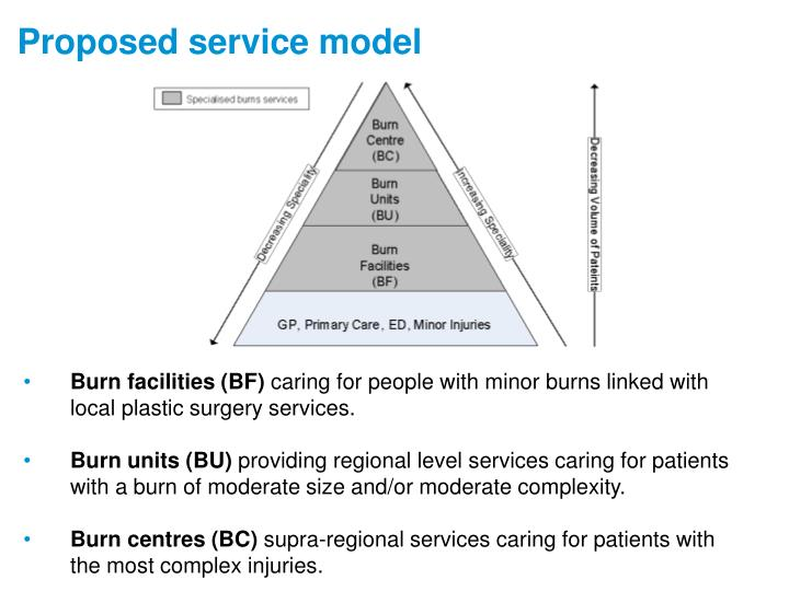 Proposed service model